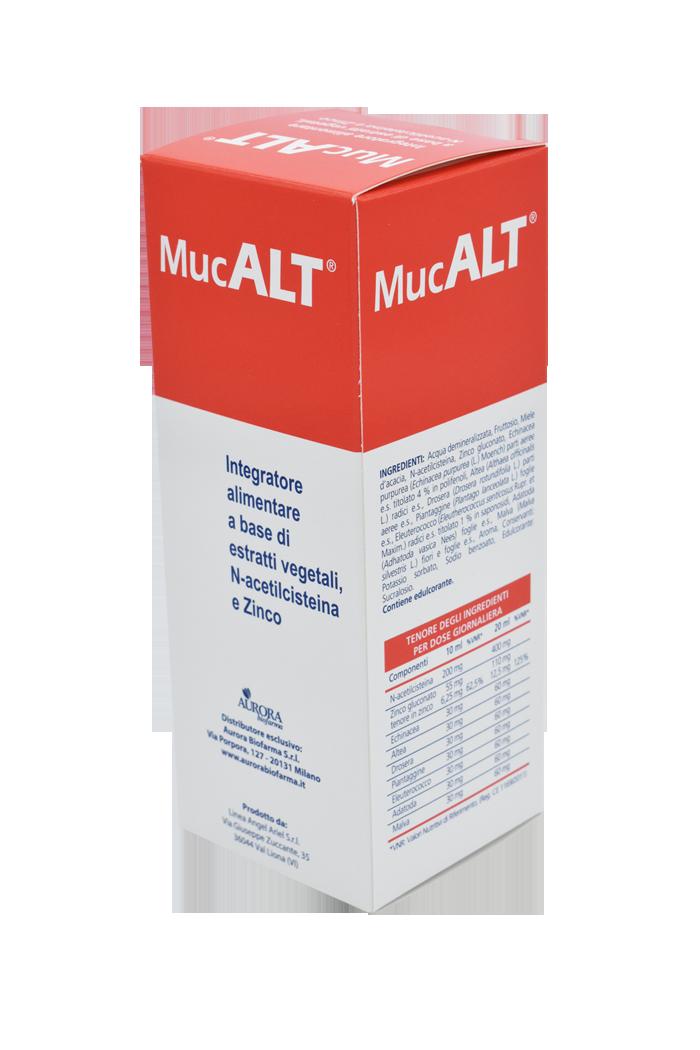 MUCALT SCIROPPO 200 ML